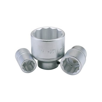 ELORA 19mm 3/4in. Square Drive Bi-Hexagon Socket: Model No.770-SM