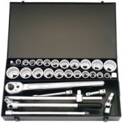 31 Piece 3/4in. Square Drive Metric and Imperial Socket Set: Model No.770-S22 MAU