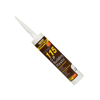 Everbuild 115 General Purpose Building Mastic Grey 310ml