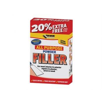 Everbuild All Purpose Powder Filler 450g + 30% Free