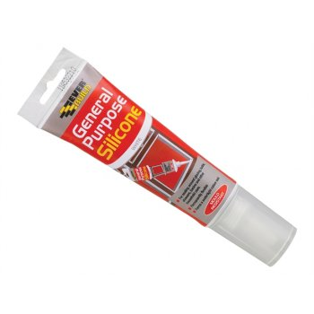 Everbuild General Purpose Easi Squeeze Silicone Sealant White 80ml