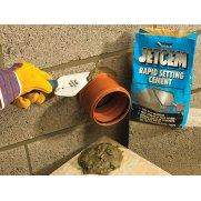 Everbuild Jetcem Rapid Set Cement 6kg (Single 6kg Pack)