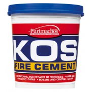 Everbuild KOS Fire Cement Black 1kg