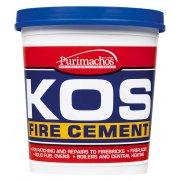 Everbuild KOS Fire Cement Black 2kg