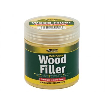 Everbuild Multi-Purpose Premium Joiners Grade Wood Filler Mahogany 250ml