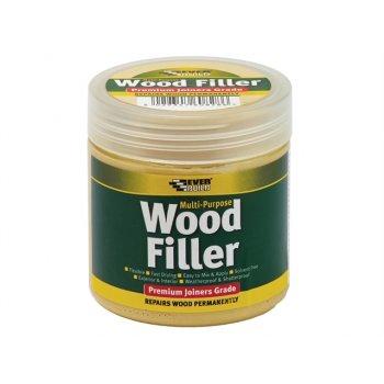 Everbuild Multi-Purpose Premium Joiners Grade Wood Filler Medium Stainable 250ml