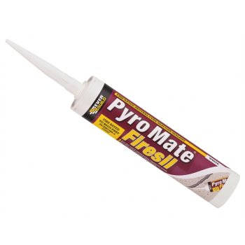 Everbuild Pyro Mate Firesil White C3