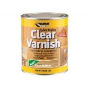 Everbuild Quick Dry Wood Varnish Matt Clear 2.5 Litre