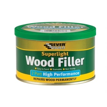 Everbuild Superlight 2 Part High Performance Wood Filler 370g