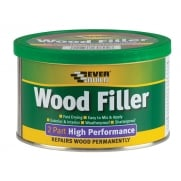 Everbuild Wood Filler High Performance 2 Part White 500g