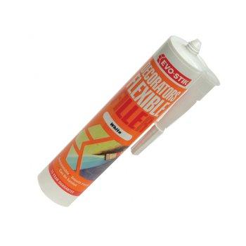 Evo-Stik Decorators Flexible Acrylic Filler - White C20