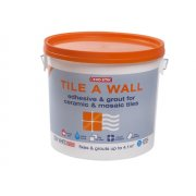 Evo-Stik Tile A Wall Adhesive & Grout for Ceramic & Mosaic Tiles 10 Litre