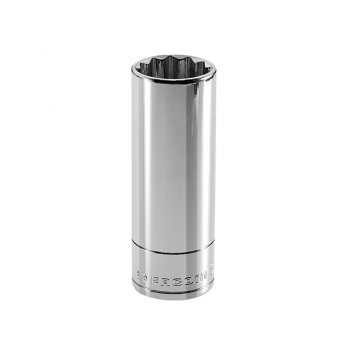 Facom Bi-Hexagon Deep Socket 3/8in Drive 10mm