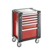 Facom Jet.6M3 Roller Cabinet 6 Drawer Red