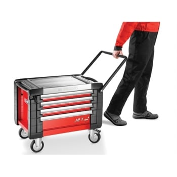 Facom JET.CR4M3 Mobile Chest Jet M3 4 Drawer Red