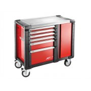 Facom Jet.T6M3 Mobile Work Bench 6 Drawer Red