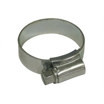Faithfull 1M Stainless Steel Hose Clip 32 - 45mm