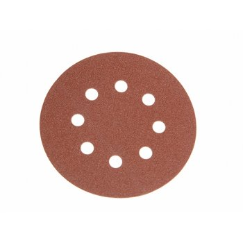 Faithfull Aluminium Oxide Disc DID3 Holed 125mm 80g (Pack of 25)