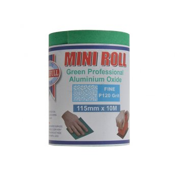 Faithfull Aluminium Oxide Paper Roll Green 115 mm x 10m 120g