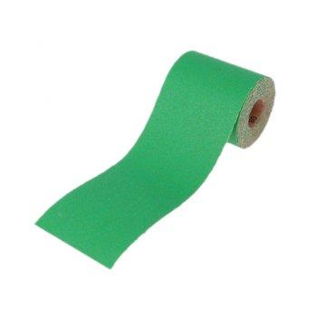 Faithfull Aluminium Oxide Paper Roll Green 115 mm x 5m 60g