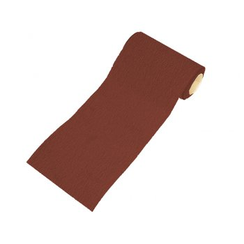Faithfull Aluminium Oxide Paper Roll Red Heavy-Duty 115 mm x 50m 120g