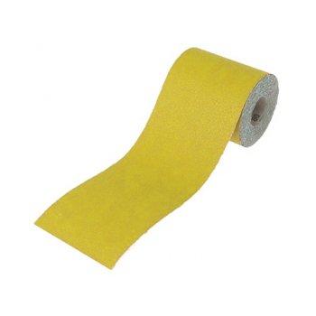 Faithfull Aluminium Oxide Paper Roll Yellow 115mm x 50m 60g