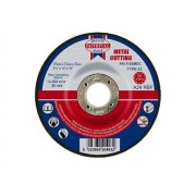 Faithfull Cut Off Disc for Metal Depressed Centre 115 x 3.2mm x 22mm