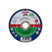 Faithfull Cut Off Disc for Stone Depressed Centre 100 x 3.2 x 16mm