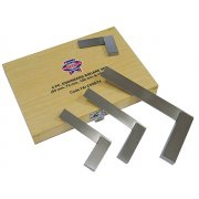 Faithfull Engineers Squares Set 4 Piece (50, 75, 100, 150mm)