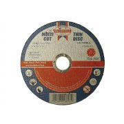 Faithfull Multi-Cut Thin Cut Off Wheel 100mm x 1.0 x 16 Pack of 10