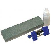 Faithfull Oilstone 200mm & Honing Guide Kit