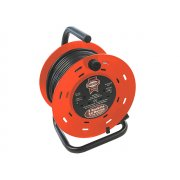 Faithfull Power Plus Cable Reel 50 Metre 13 Amp 230 Volt