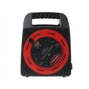 Faithfull Power Plus Easy Reel Cable Reel 20 Metre 10 Amp With 4 Socket 240 Volt