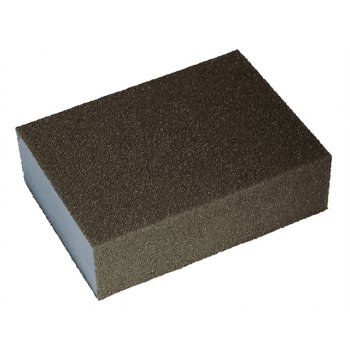 Faithfull Sanding Block - Medium/Fine 90 x 65 x 25mm