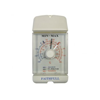 Faithfull Thermometer Dial Max- Min