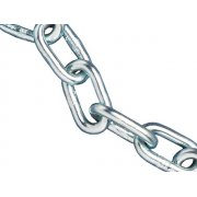 Faithfull Zinc Plated Chain 4mm x 30m Reel - Max Load 120kg