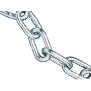 Faithfull Zinc Plated Chain 4mm x 30m Reel - Max Load 120kg