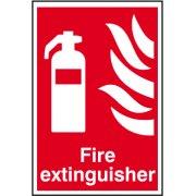 Fire extinguisher - PVC (200 x 300mm)