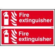 Fire extinguisher - PVC (300 x 200mm)