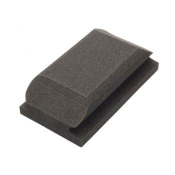 Flexipads World Class Hand Sanding Block Shaped Black 70 x 125mm