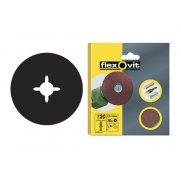 Flexovit Drill Mountable Discs 125mm Assorted (Pack of 10)