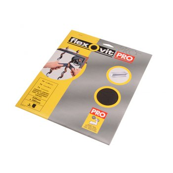 Flexovit Emery Cloth Sanding Sheets 230 x 280mm Medium 80g (25)
