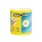 Flexovit High Performance Sanding Roll 115mm x 5m Medium 80g