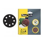 Flexovit Hook & Loop Sanding Discs 115mm Assorted (Pack of 6)