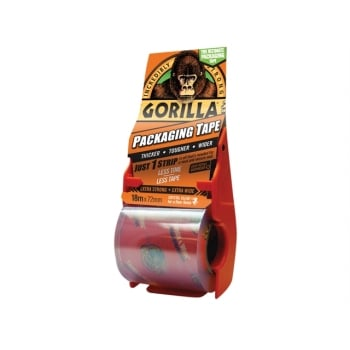 Gorilla Glue Gorilla Packaging Tape 72mm x 18m Dispenser: Model No- 3044801