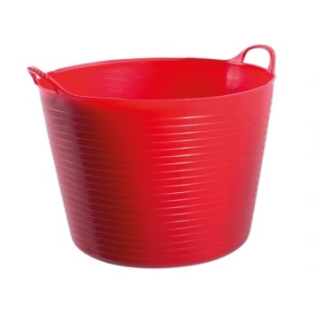 Gorilla Tubs Tubtrugs Tub 26 Litre Medium - Red