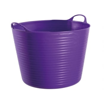 Gorilla Tubs Tubtrugs Tub 38 Litre Large - Purple