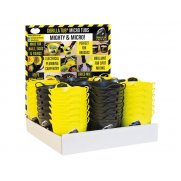 Gorilla TubsGorilla Yellow/Black Micro Tub Display 108 Piece Model No-