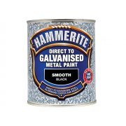 Hammerite Direct To Galvanised Metal Paint White 750ml