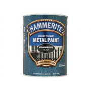 Hammerite Direct to Rust Hammered Finish Metal Paint Black 5 Litre